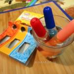 Способ работы с кондитерскими карандашами и фото