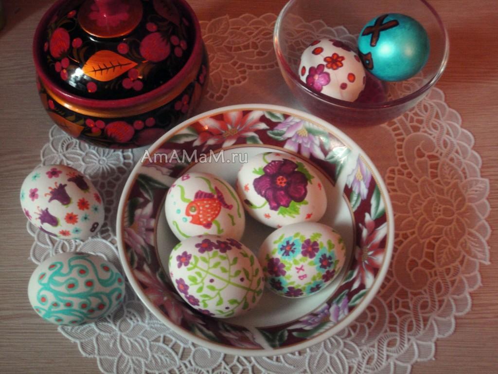 Фото красивых яиц, расписанных к Пасхе и советы