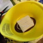 Фото приготовления пасхи в формочке