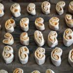 Способ приготовления печенья с начинкой из цедры с сахаром