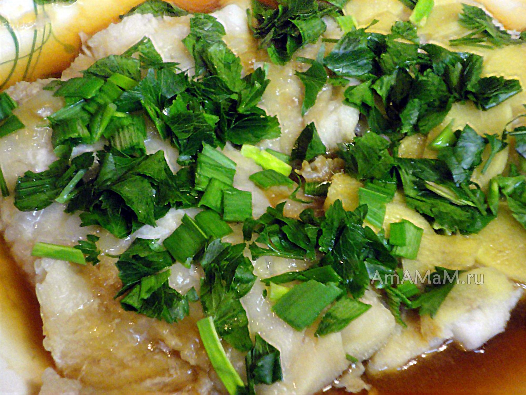 Пикша в пароварке рецепт