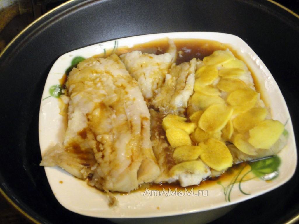 Пикша пошаговый рецепт фото