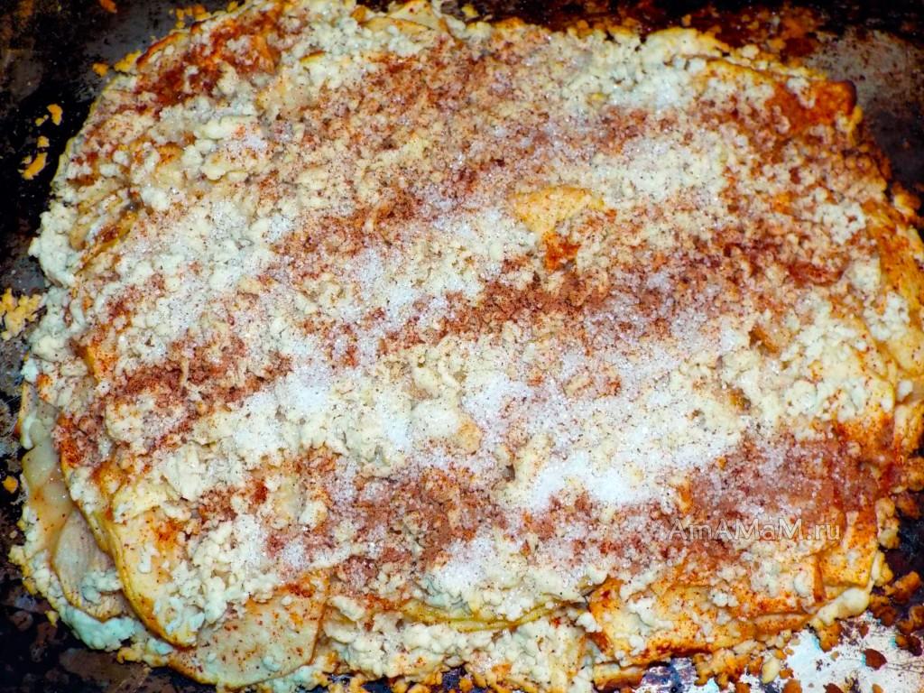 Пироги из тертого теста - рецепт с фото