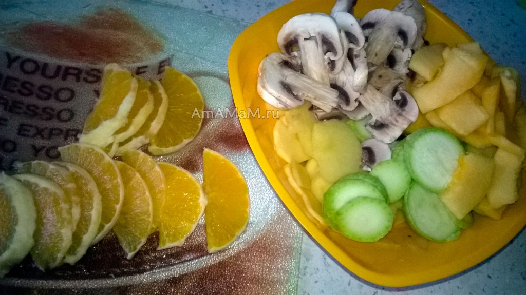 пикша овощами рецепт фото