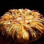 Рецепт печеных овощей с грибами - и фото