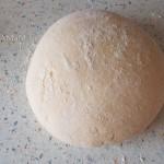 Способ приготовления постного теста для пирожков с горохом
