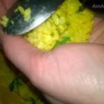 Способ лепки рисовых шариков с начинкой и рецепт аранчини