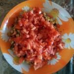 Салат из курицы с пекинской капустой и грибами - рецепт с сухариками и фото