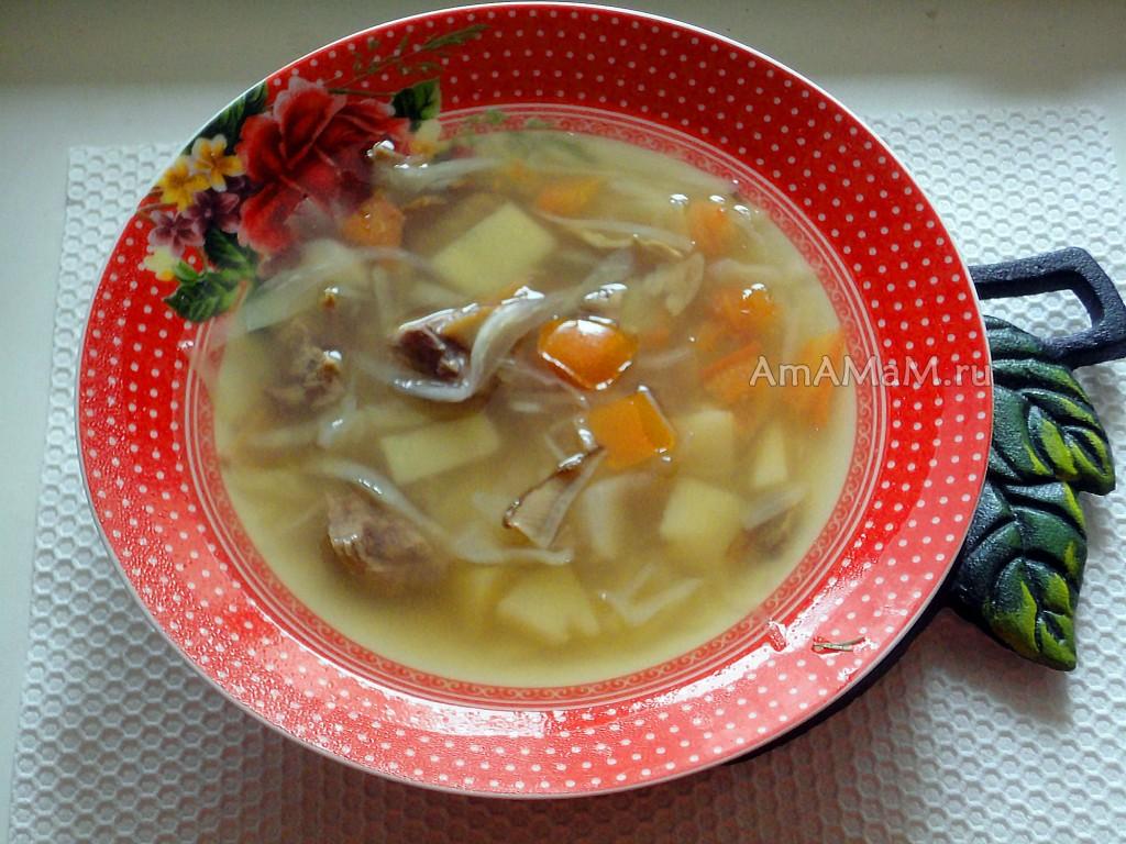 Рецепт щей с белыми грибами - вкусно и просто, с фото