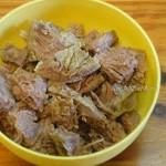 Мясные щи с говядиной и белыми грибами