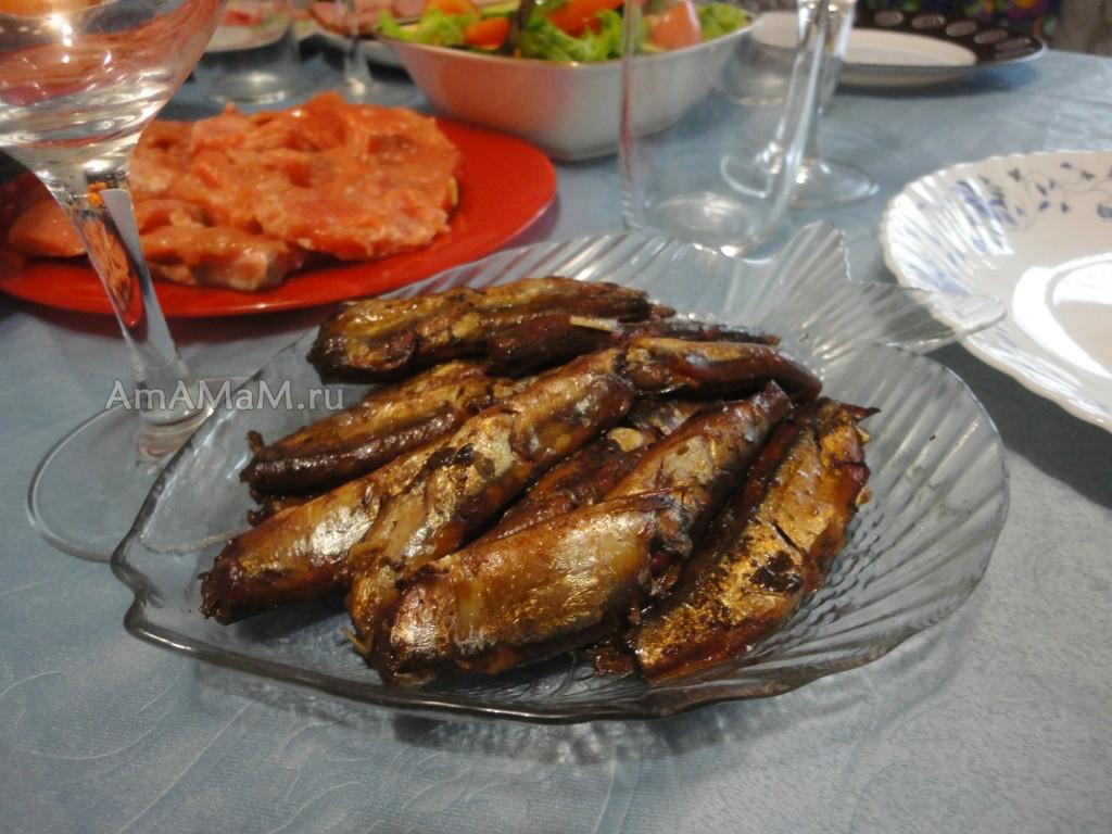 Рецепт балтийских шпрот в домашних условиях своими руками