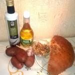 Рецепты постных блюд: закуска из картофеля и закуска из хлеба с орехами и чесноком