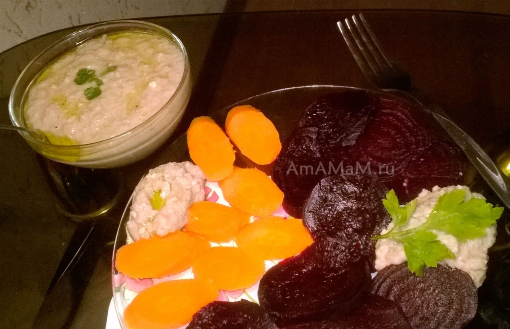 Рецепты для поста - салаты и закуски, рецепты с фото