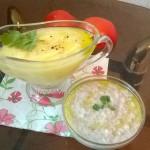 Греческая закуска Скордалья (картофельная и хлебно-ореховая)