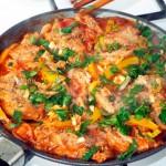 Рецепт рагу из овощей с соевым мясом - постный рецепт и пошаговые фото