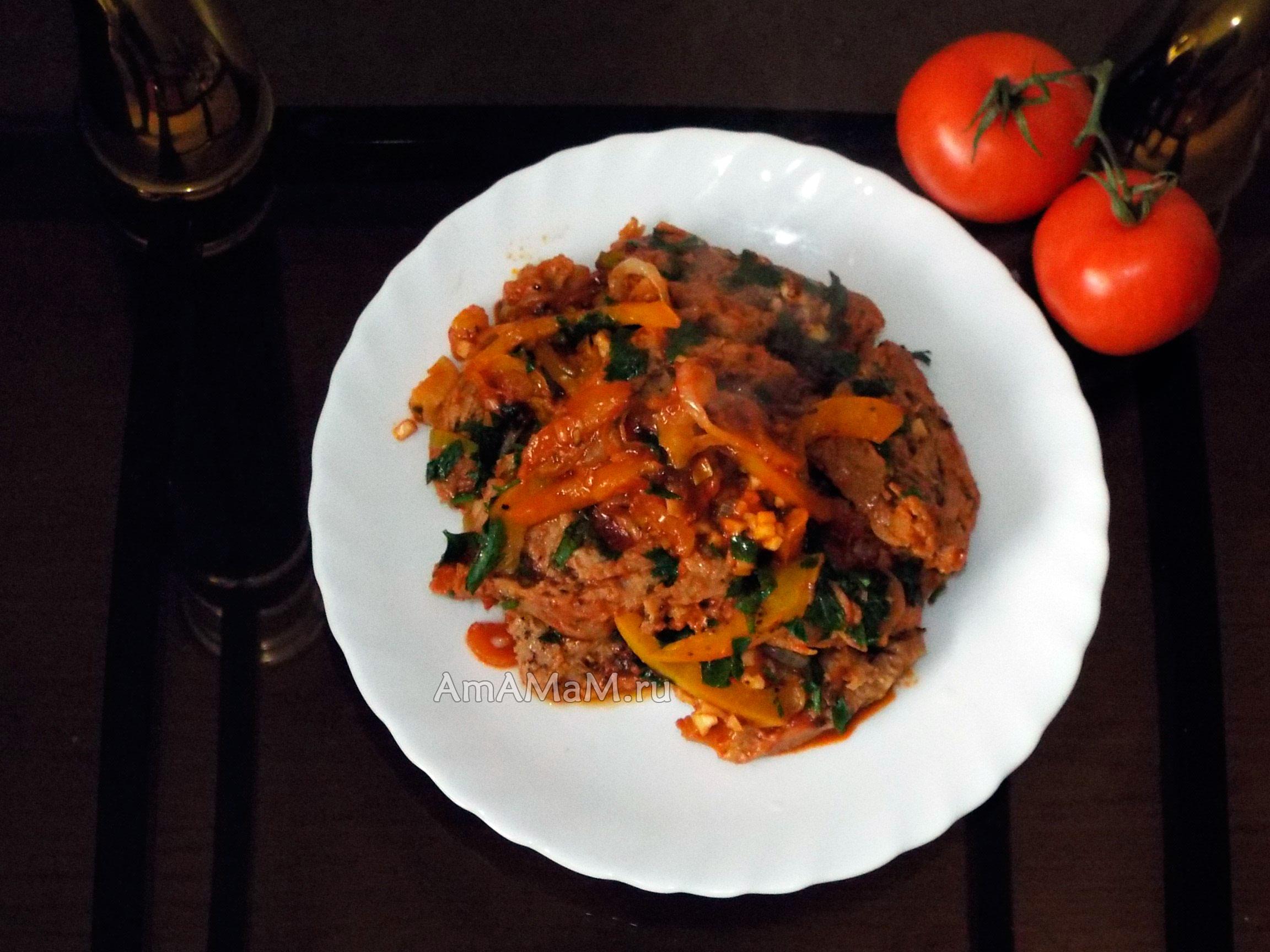 Говядина тушеная в соевом соусе рецепт