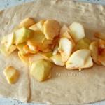 Способ приготовление штруделя из яблок и клюквы - рецепт с фото