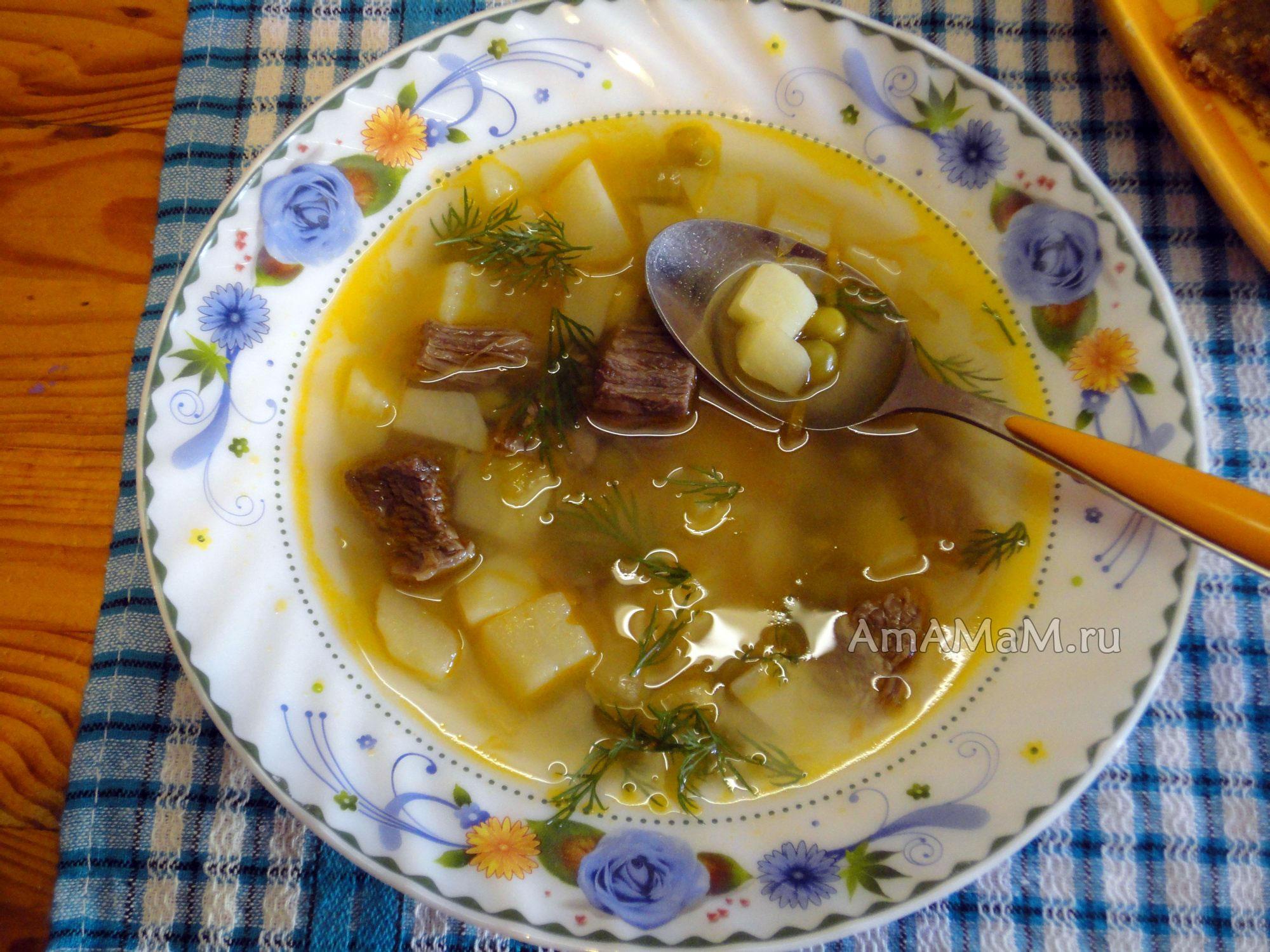 рецепт томатного супа из томатной пасты