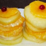Фруктовый десерт – апельсины и яблоки в карамели