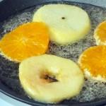 Как делают фрукты в карамели - фото