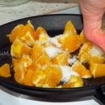Приготовление аплеьсиновой начинки для булочек-улиток - пошаговый рецепт