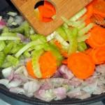 Овощная часть фасолады - фото и рецепт
