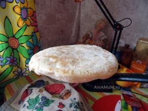 Лепешка как узбекская - домашний рецепт