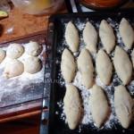 Этапы приготовления теста и пирожков