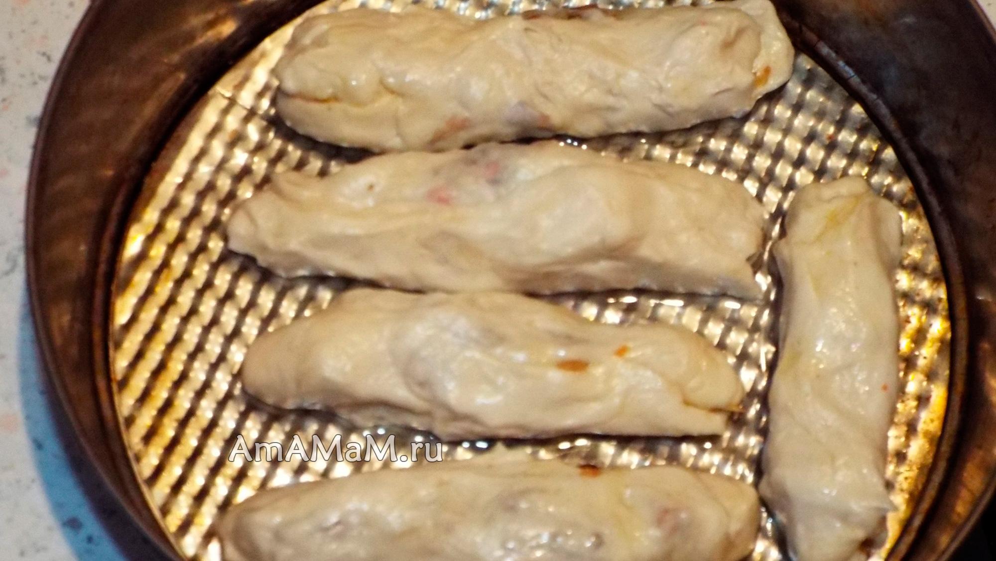 Пирожки с капустой жареные на сковороде рецепт пошагово