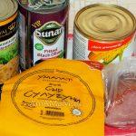 С чем приготовить салат из консервированных шампиньонов - состав и рецепт