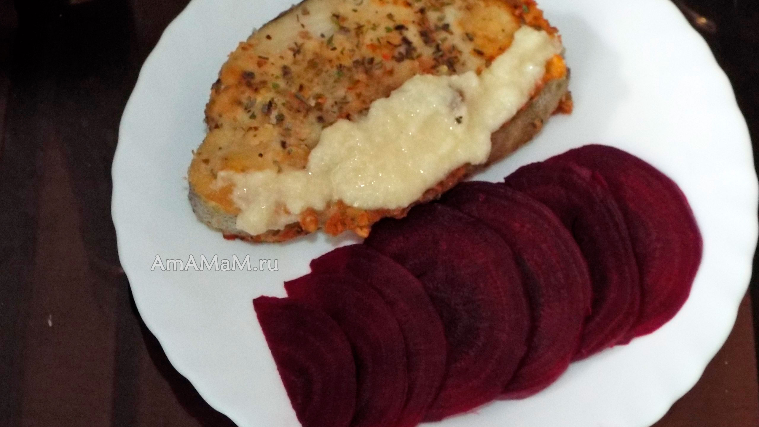 Стейки трески в духовке рецепты пошаговое фото