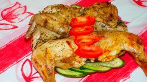 Рецепт и фото приготовления цыпленка табака