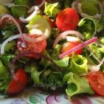 Салат с листьями салата - рецепты