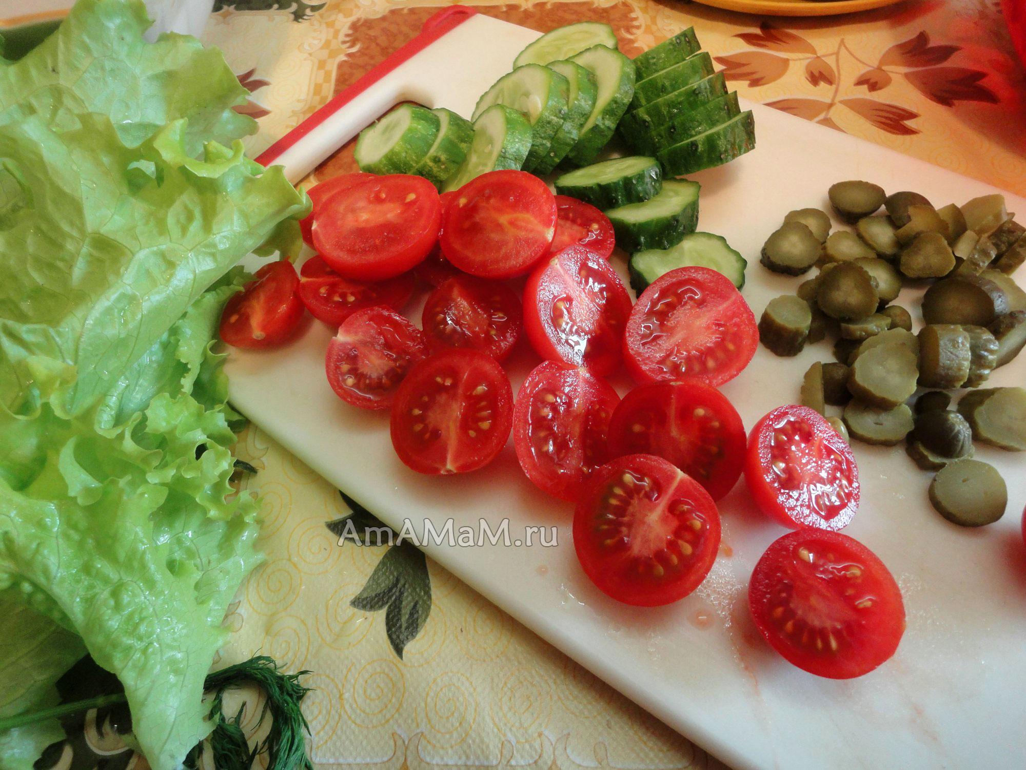 Как красиво нарезать помидор пошаговое фото