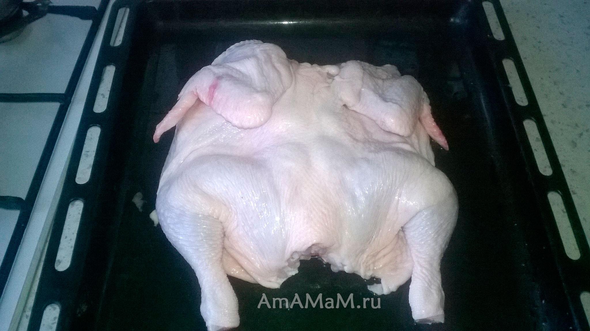 Как резать курицу фото пошагово