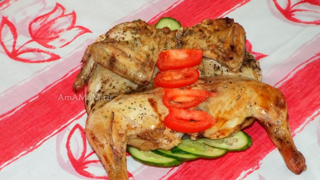 Рецепты цыпленок табака пошагово
