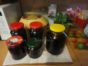 Рецепт вишневого варенья без косточек с фото