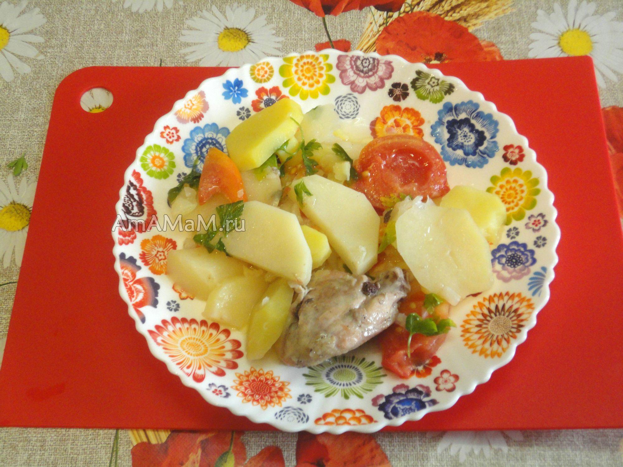потушить овощи вкусно рецепт с фото в духовке