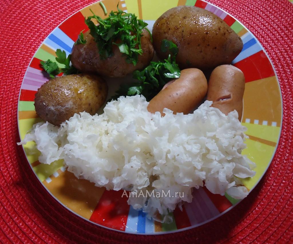 С чем едят китайские древесные грибы - рецепты с фото