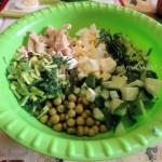 С чем делать салат с кальмарами - фото приготвления и рецепт