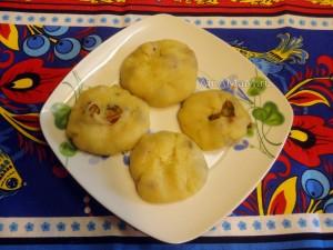 Постный рецепт картофельных пирожков с лисичками