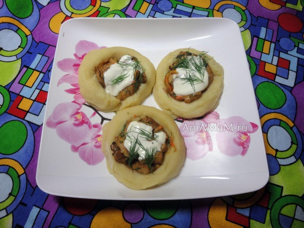 Рецепты пирожков с лисичками с фото