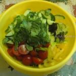 Что приготовить с овощами и салатом Микс - 2 рецепта