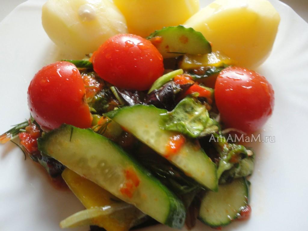 Что приготовить ил листового салата - рецепты