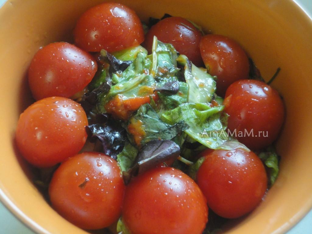 Салат -микс - рецепт приготолвения