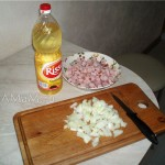 Способ приготовления подливки с ветчиной