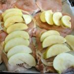 Рецепты свинины с яблоками