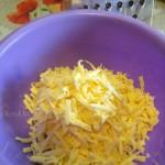 Сыр на крупной терке - фото, как выглядит