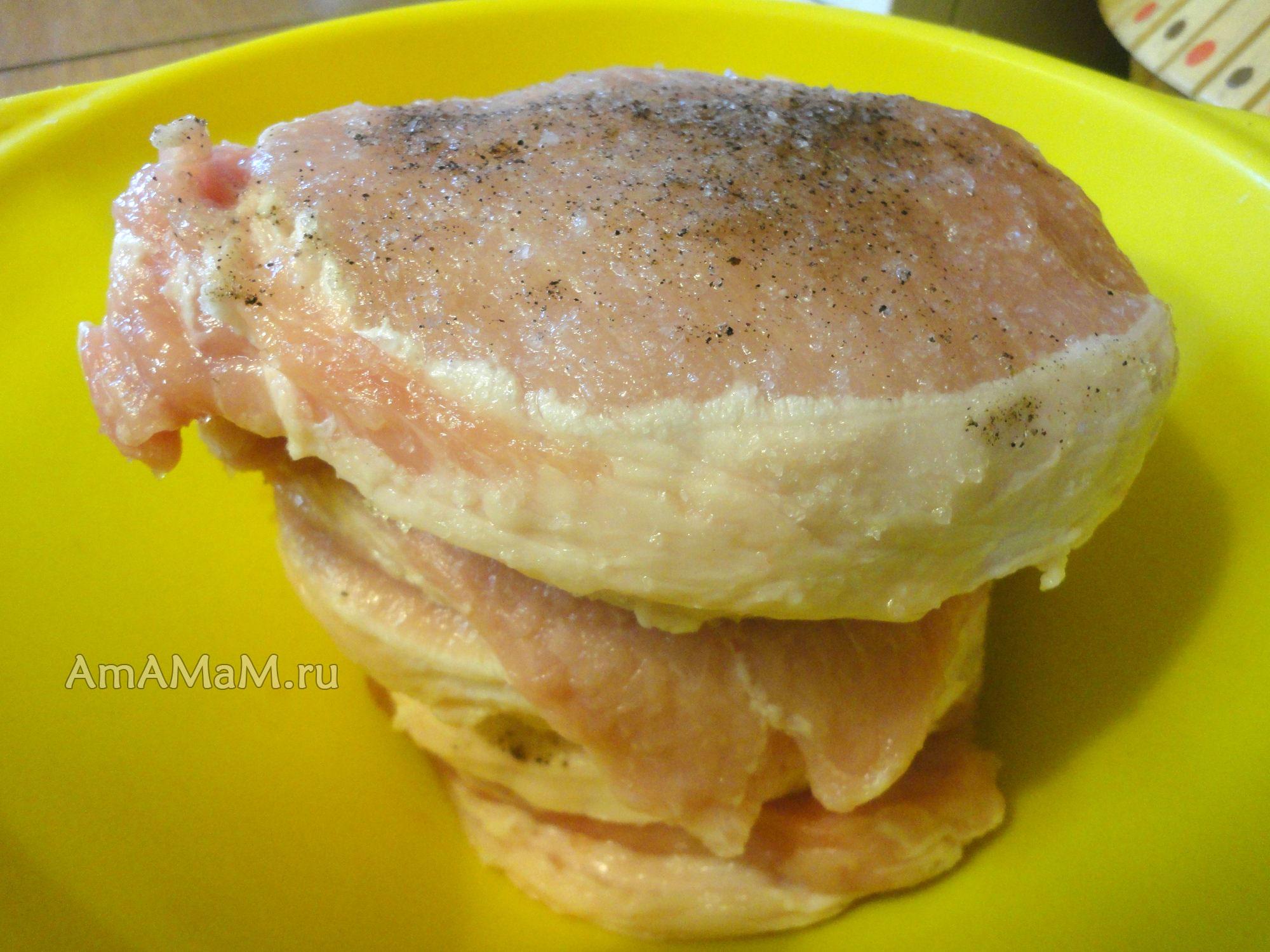 запеченная отбивная свинина рецепт с фото в духовке