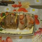 Рецепт запекания свинины гармошкой (веером)